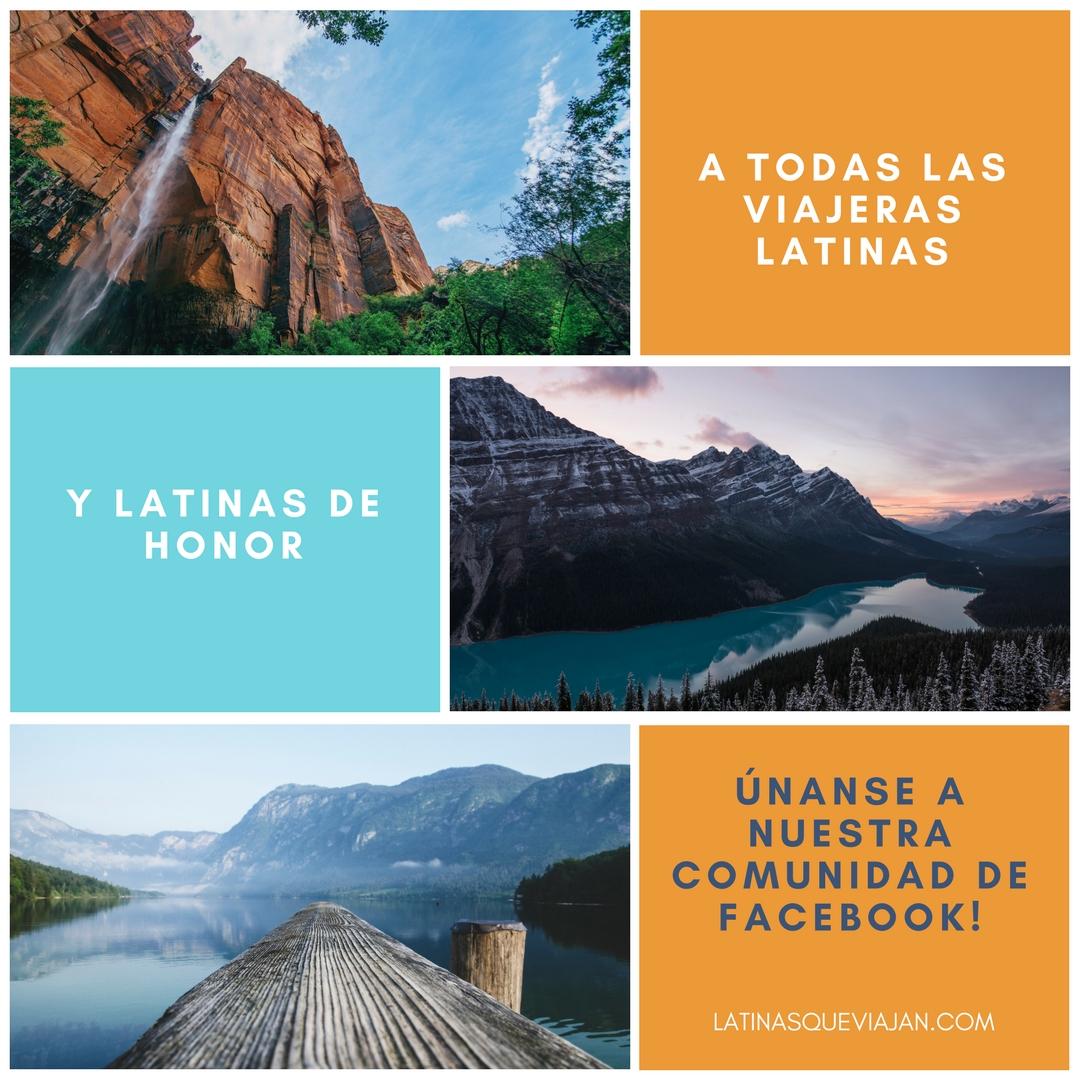 Comunidad de viajes para viajeras latinas y latinas de honor - latina travel - latina travelers
