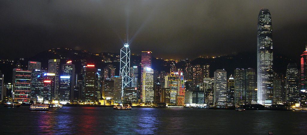 Hong Kong Skyline Latina Travel
