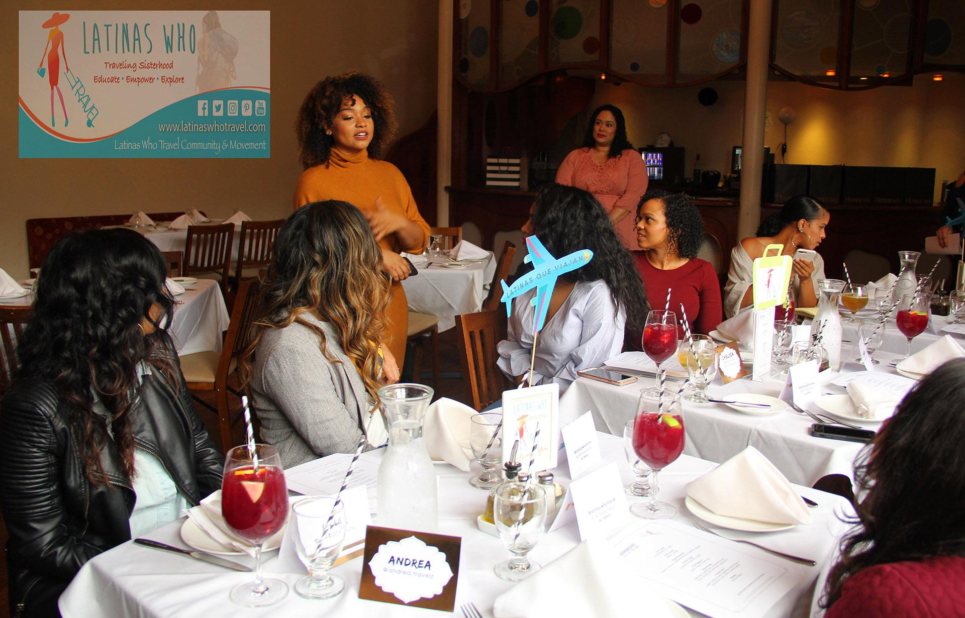 Valerie Lora - Latinas Who Travel Hennessy Hispanic Heritage Month Event
