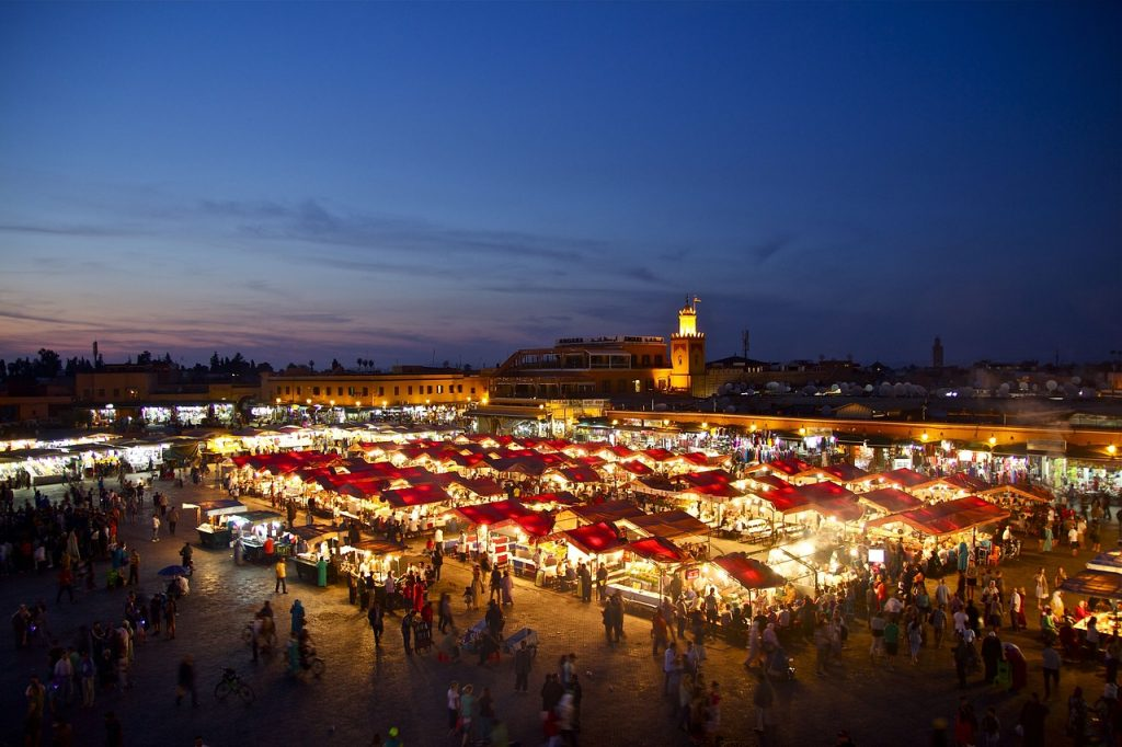 Jemaa el Fnaa Square - 1 day in Marrakech
