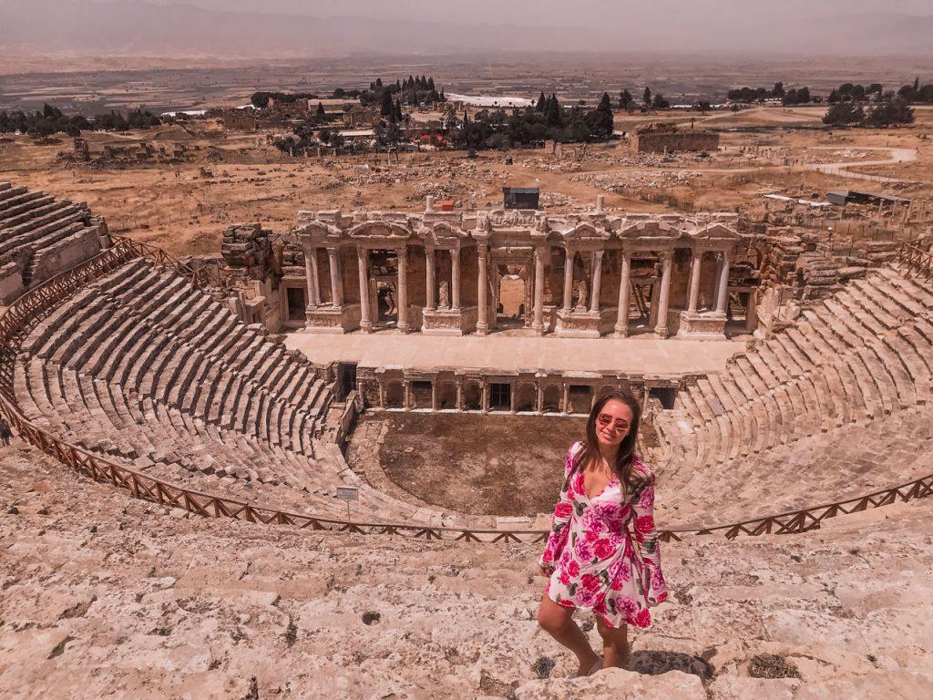 Pamukkale-Hieropolis-Turkey