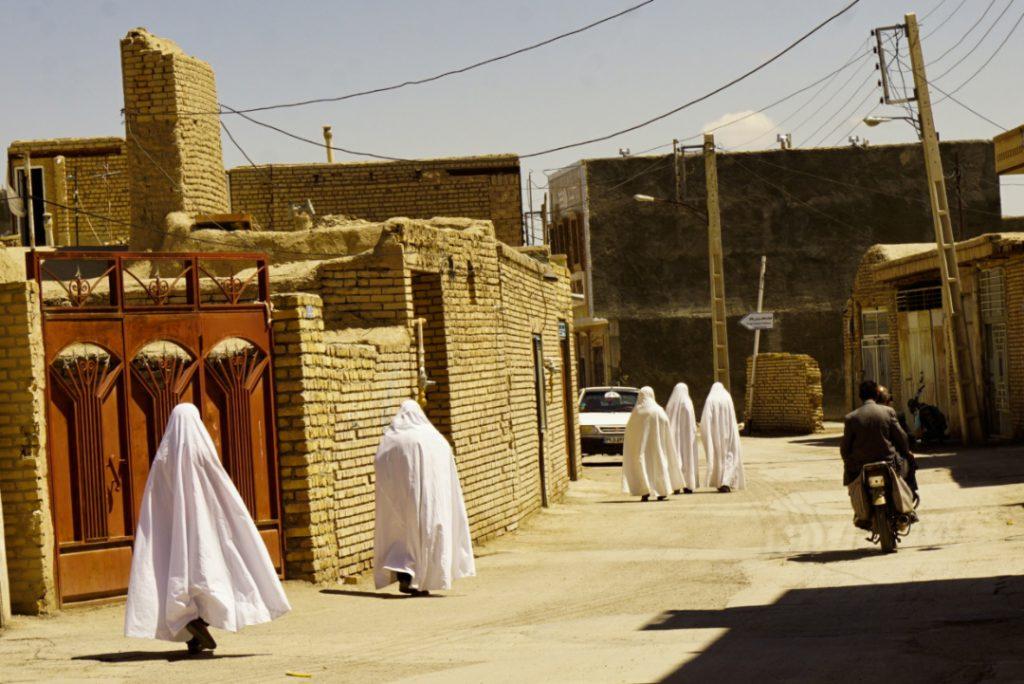 Varzaneh angels, Isfahan province, Iran