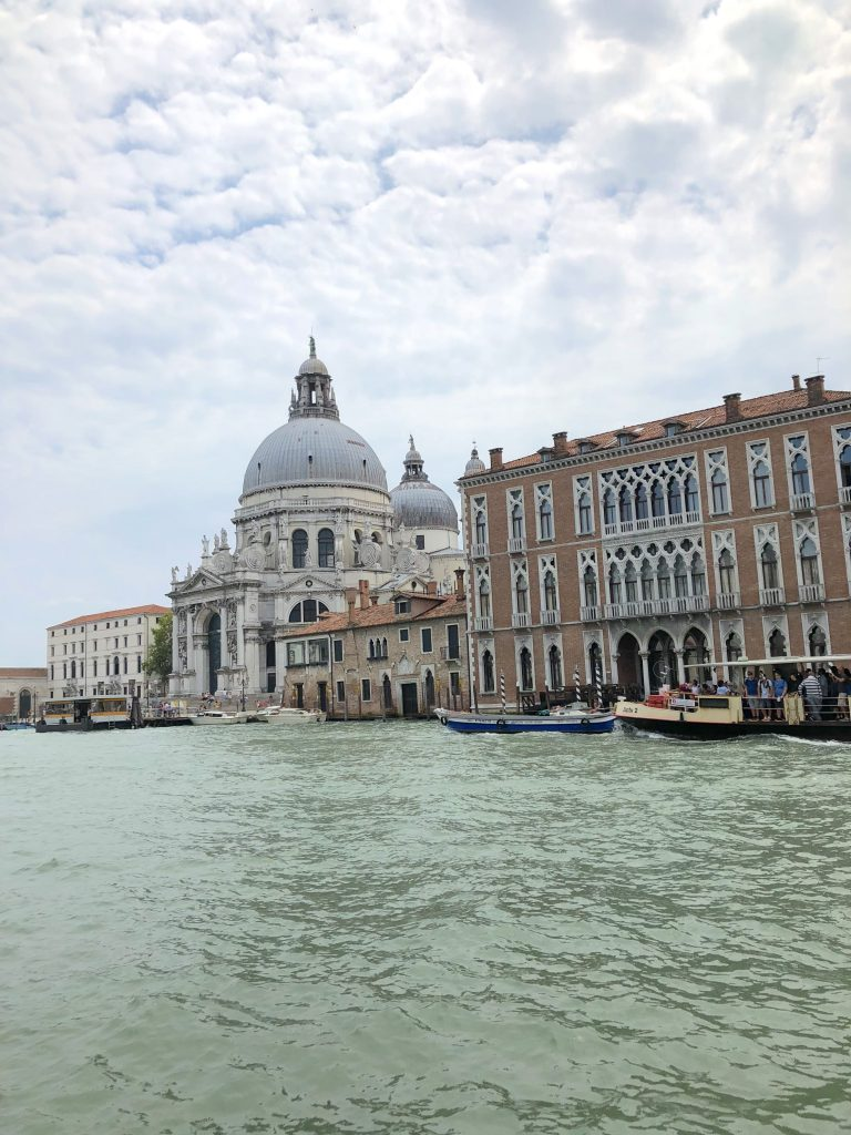 View from Gritti Palace Venice Italy